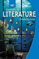 Holt Elements of Literature  The Holt Reader, Adapted Version Introductory Course-9780030996399
