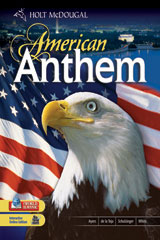 American Anthem: Reconstruction to the Present  Student Edition-9780030998133