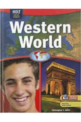 Geography Middle School, Western World  Interactive Online Edition (1-year subscription)-9780030998751