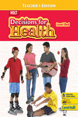 Decisions for Health  Student One-Stop CD-ROM Level Red-9780030999673
