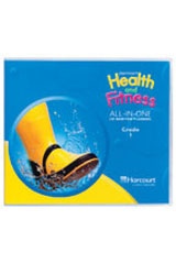 Harcourt Health & Fitness  Music Daily Activity CD Grades K-6-9780153391170