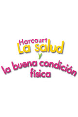 Harcourt Health & Fitness, Spanish  Big Book Grade 2-9780153450877