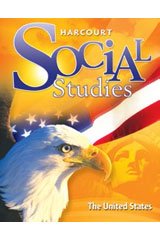 Harcourt Social Studies Interactive Desk Maps 5-pack Grades K-6 United States