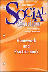 Order Harcourt Social Studies Homework and Practice Book Student