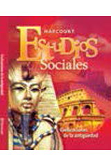 Harcourt Estudios Sociales  Teacher's Edition, Volume 1 Grades 6-7 Ancient Civilizations-9780153496820