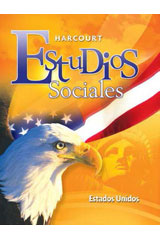 Harcourt Estudios Sociales  Audiotext Collection Grade 5 United States-9780153497254