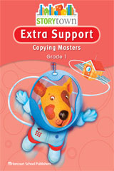 Storytown Extra Support Copying Masters Grade 1