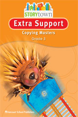 Storytown  Extra Support Copying Masters Grade 3-9780153498688
