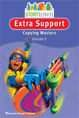 Storytown  Extra Support Copying Masters Grade 5-9780153498701
