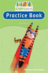 Storytown  Practice Book Student Edition Grade 2-9780153498749