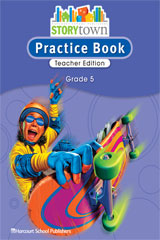 Storytown  Practice Book Teacher Edition Grade 5-9780153498886
