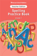 Storytown  Spelling Practice Book Teacher Edition Grade 1-9780153499029