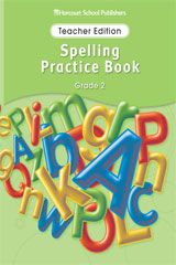 Storytown  Spelling Practice Book Teacher Edition Grade 2-9780153499036