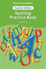 Storytown  Spelling Practice Book Teacher Edition Grade 6-9780153499074