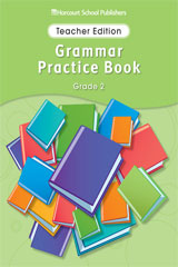 Storytown  Grammar Practice Book Teacher Edition Grade 2-9780153499159
