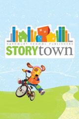 Storytown  Big Book Grade 1 Here in Space-9780153519383