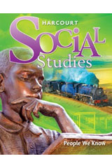 Harcourt Social Studies 6 Year Online Student Edition Grade 2 People We Know-9780153520334