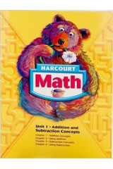 Harcourt School Publishers Math  Student Edition Grade 1-9780153522222