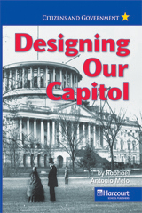 Harcourt Social Studies  Reader 6-pack On-Level Grade 3 Designing Our Capitol-9780153528200