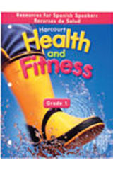 Harcourt Health & Fitness  Activity Book Grade 1-9780153551376