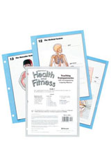 Harcourt Health & Fitness  Teaching Transparencies Grade 4-9780153551628