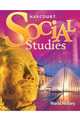 Harcourt Social Studies  Online Student Edition 6-year Grades 4-6/7 World History-9780153591976