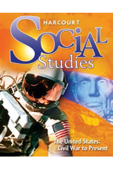 Harcourt Social Studies  Below-Level Reader Teacher Guide Collection Grades 4-6/7 The United States: Civil War to the Present-9780153594885