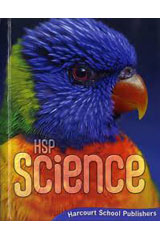 Harcourt Science  Student Edition Grade 2-9780153609381