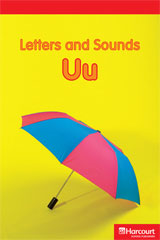 Storytown  Readers Teacher's Guide Below-Level Letters and Sounds Uu-9780153627576