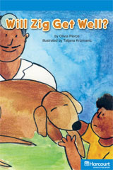 Storytown  Readers Teacher's Guide On-Level Will Zig Get Well?-9780153627866