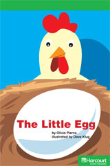 Storytown  Readers Teacher's Guide Above-Level Little Egg-9780153628184