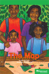 Storytown Readers Teacher's Guide Above-Level Map