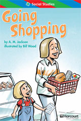 Storytown  ELL Reader Teacher's Guide Grade 1 Going Shopping-9780153628528