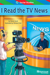 Storytown  ELL Reader Teacher's Guide Grade 2 I Read the TV News-9780153628573