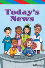 Storytown  ELL Reader Teacher's Guide Grade 3 Today's News-9780153628870