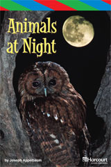 Storytown  ELL Reader Teacher's Guide Grade 3 Animals at Night-9780153629044