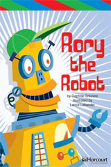 Storytown  ELL Reader Teacher's Guide Grade 3 Rory the Robot-9780153629075