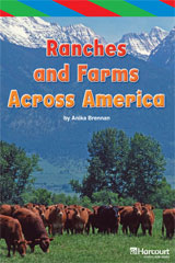 Storytown  ELL Reader Teacher's Guide Grade 4 Ranches and Farms Across the World-9780153629310