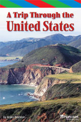 Storytown  ELL Reader Teacher's Guide Grade 4 Trip Through the United States-9780153629396