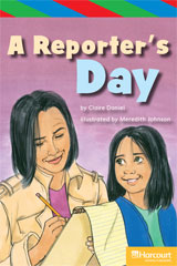 Storytown  ELL Reader Teacher's Guide Grade 5 Reporter's Day-9780153629464