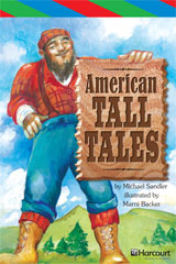 Storytown  ELL Reader Teacher's Guide Grade 5 American Tall Tales-9780153629556