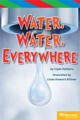 Storytown  ELL Reader Teacher's Guide Grade 5 Water Everywhere-9780153629563
