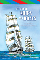 Storytown  ELL Reader Teacher's Guide Grade 6 All About Ships and Boats-9780153629990