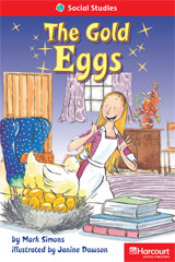 Storytown  Readers Teacher's Guide Below-Level Gold Eggs-9780153630446