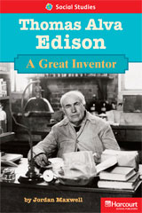 Storytown  Readers Teacher's Guide Below-Level Thomas Alva Edison a Great Inventor-9780153630811