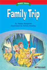Storytown  Readers Teacher's Guide Below-Level Family Trip-9780153630927