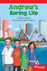 Storytown  Readers Teacher's Guide Below-Level Andrew's Boring Life-9780153631047