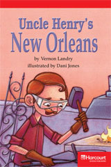 Storytown  Readers Teacher's Guide Below-Level Uncle Henry's New Orleans-9780153631108