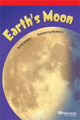 Storytown  Readers Teacher's Guide Below-Level Earth's Moon-9780153631214
