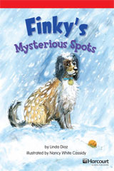 Storytown  Readers Teacher's Guide Below-Level Finky's Mystery Spots-9780153631368